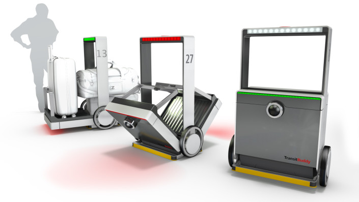 TransitBuddy 3 Phasen, Beleuchtung