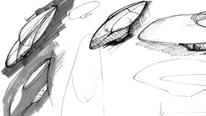 Skizze Entwurf