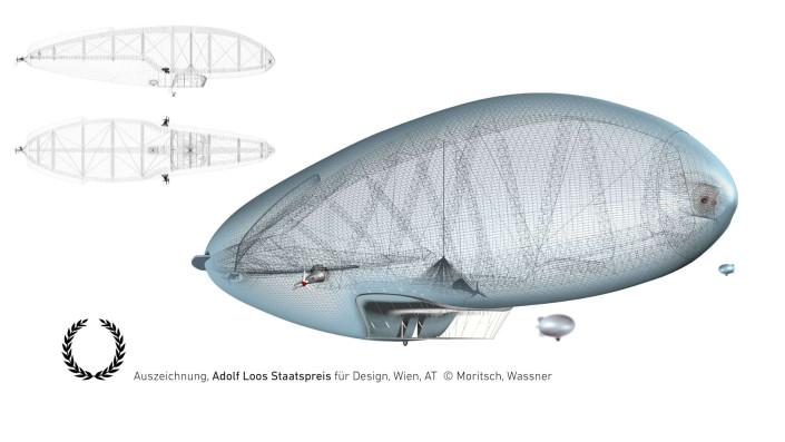 Ansichten, Perspektive Luftschiff