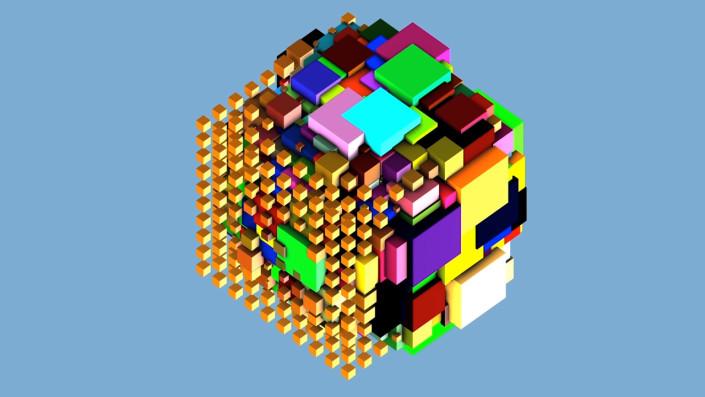 cubes, 3d space, pixel, pixel hotel,