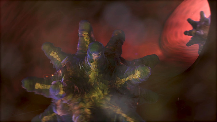 virus, blutbahn, animation, rendering