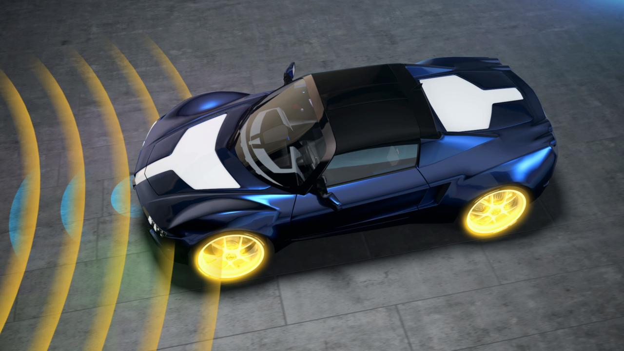 Haidlmayr Elektroauto Sensoren